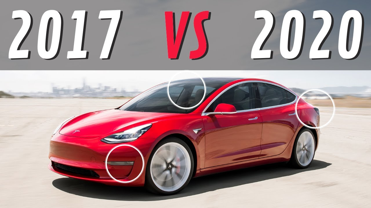 2017 VS 2020 Tesla Model 3 | Here's How Much the Model 3 ...