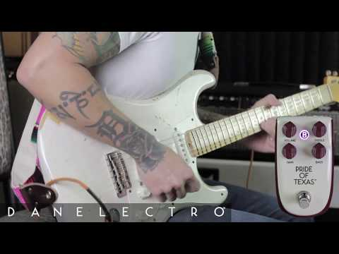 Billionaire (by Danelectro) Pride of Texas overdrive pedal demo by RJ Ronquillo