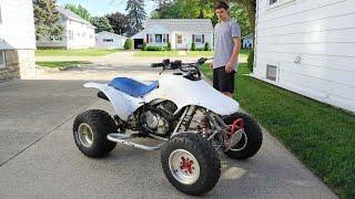 One Last Try...$350 Honda 250x Start Attempt. (1000 Kicks Later)