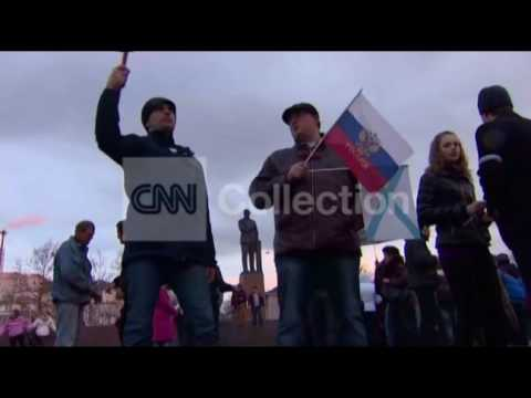 UKRAINE:CRIMEA PRO-RUSSIAN PROTESTERS