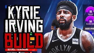 HOW TO MAKE A KYRIE IRVING BUILD ON NBA 2K20 - BEST SHOT-CREATING BUILD!!