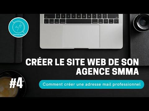 4# Comment créer une adresse mail professionnel pour votre agence SMMA