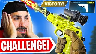 The *PISTOLS ONLY* Challenge on Warzone! 🤣