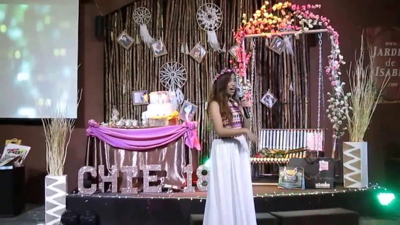 Richiecos 18th Surprise Boho Debut YouTube