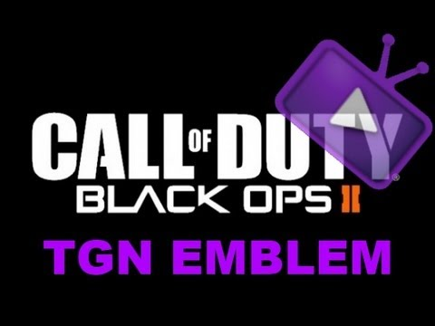 black ops 2 how to make the tgn logo for your emblem