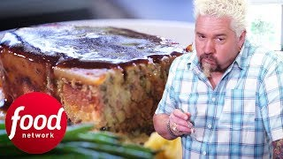 Guy Eats The Most Tender And Moist Meatloaf He Has Ever Tried | Diners, Drive-Ins & Dives