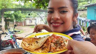 asi es como se prepara el original rico taco de res mexicano en el jabali