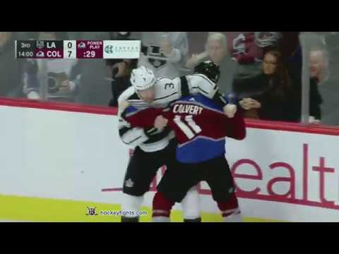 Dion Phaneuf vs Matt Calvert Jan 19, 2019