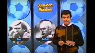 1985 Fortuna Düsseldorf - Bayern München 4:0 | Keim, Homqvist, Demandt, Dusend | 1. Spiel Schmadtke