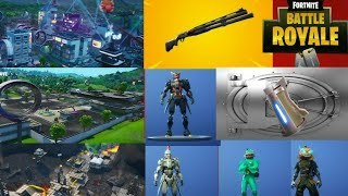 Fortnite New Season 9 Battle Pass, Locations, Combat Shotgun And Character Challenges Review