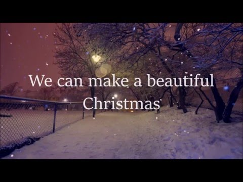 Big Time Rush - Beautiful Christmas - Lyrics