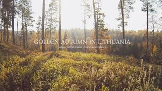 Golden Autumn in Lithuania