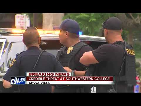 Southwestern College, satellite campuses evacuated due to threat