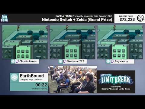 EarthBound (Relay Race) By Team Jeff, Team Everdred, And Team Booka (RPG Limit Break 2017 Part 43)