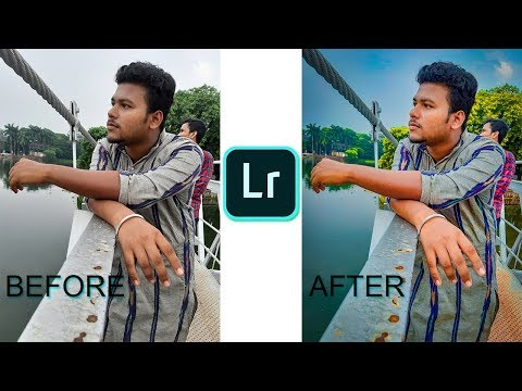 How To Edit Photo Using Mobile | Adobe Lightroom Tutorial l thumbnail