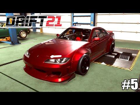 Montei Um Nissan Silvia S15 Do Zero Pra Drift! - DRIFT 21 #5