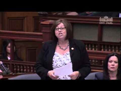 NDP MPP Kicked Out of Legislature During Debate about Autism Cuts