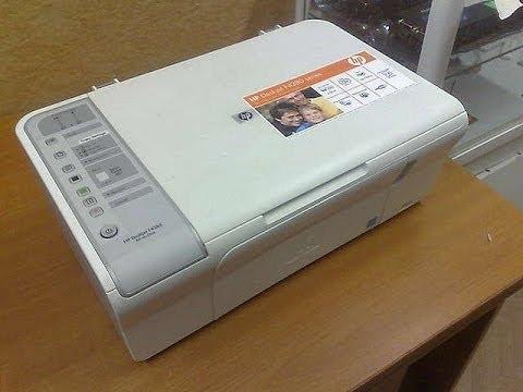 Obzor Na Printer Hp Deskjet F4283 All In One Youtube