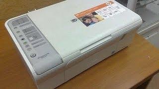 Обзор на принтер HP Deskjet F4283 All-in-One
