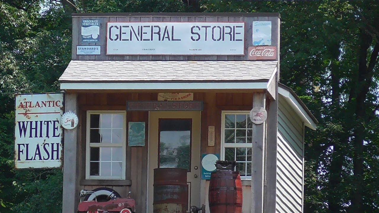 Old Time General Store Country Yard Decoration Youtube