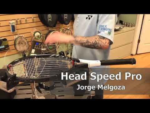 Time Lapse: How to String a Head Speed Pro Tennis Racquet