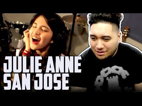 Julie Anne San Jose - Look At Me Now (Chris Brown Cover) REACTION!!!