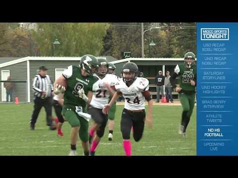 North Dakota High School 9-Man Playoff Highlights 10/16/17