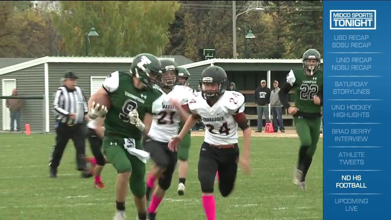 North Dakota High School 9 Man Playoff Highlights