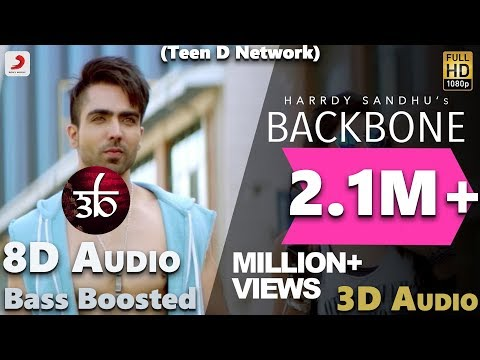 Backbone | 3D Audio | Bass Boosted | Hardy Sandhu | Virtual 3d Audio | HQ