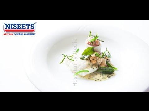 Michelin-star Chef Simon Hulstone Prepares And Cooks A Plaice Recipe