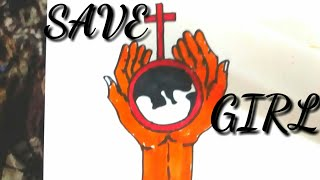 Video HOW TO DRAW SAVE GIRL CHILD -STEP BY STEP. download MP3, 3GP, MP4, WEBM, AVI, FLV Agustus 2018