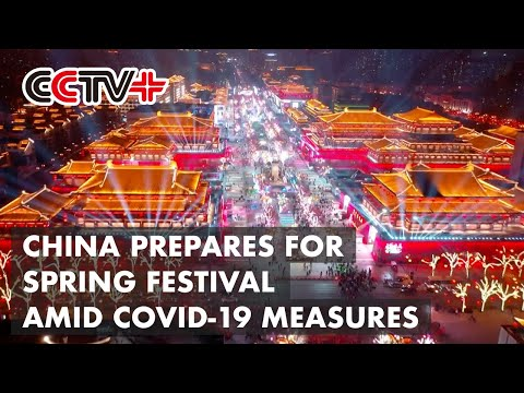 People Across China Prepare for Spring Festival Amid COVID-19 Measures