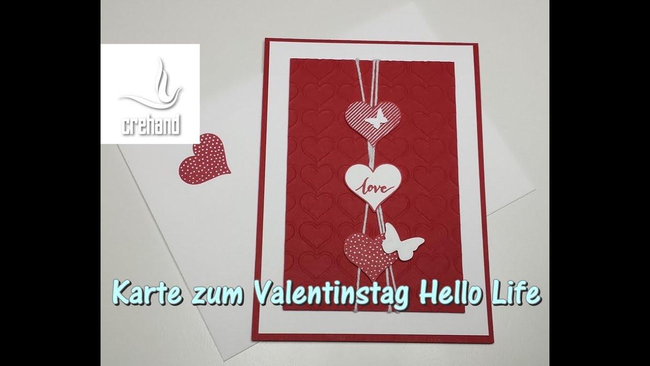 Valentinstag Schnelle Karte Mit Stampinu0027 Up!   YouTube