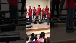 Lockheed Elementary School- God Bless the USA