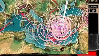 8/17/2017 -- Global Earthquake Update -- Large Rare M6.8 Strikes Central ATLANTIC Ocean
