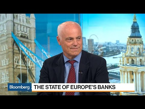 EBA Chairman on the Health of Europe's Banks, Brexit and Negative Interest Rates