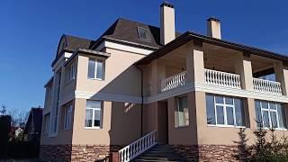 СФТК Мокрый Фасад. Утепление кирпичного дома пенопластом, реконструкция по технологии Ceresit