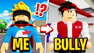 I Switched Lives With My BULLY in Roblox Brookhaven RP!! (Kr the Bully)