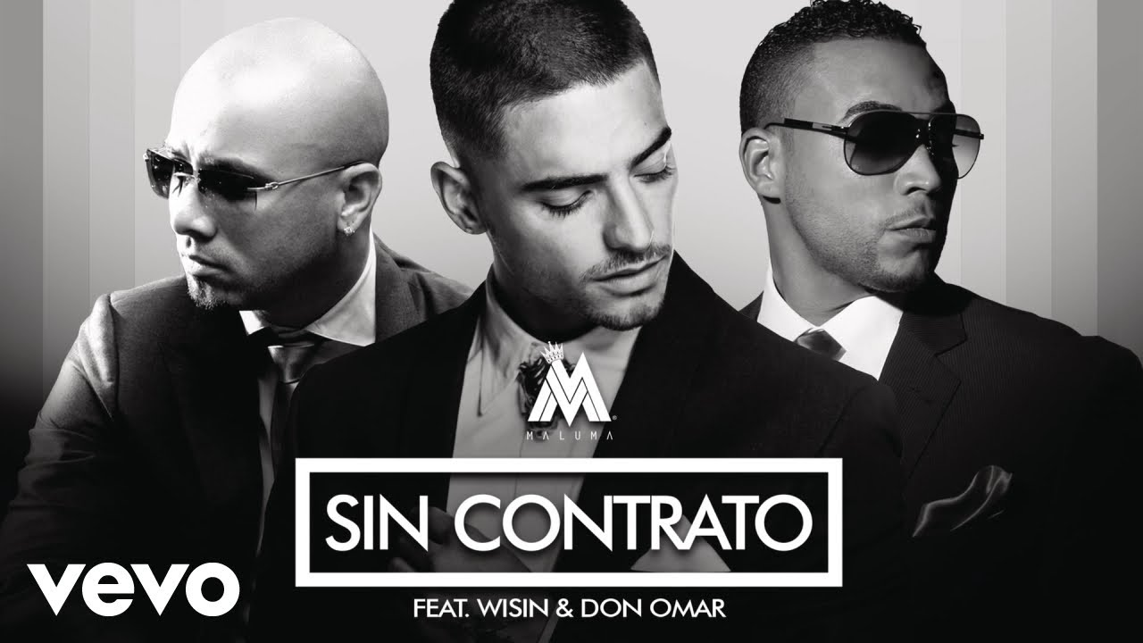 Maluma — Sin Contrato (Remix)[Audio] ft. Don Omar, Wisin
