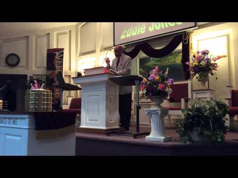 Eddie Jones Preaching at North Desoto COC