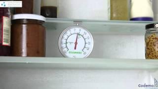 Fridge Freezer Thermometer Instructional Video