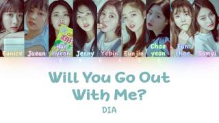 dia 다이아 will you go out with me 나랑 사귈래   color coded han rom eng lyrics
