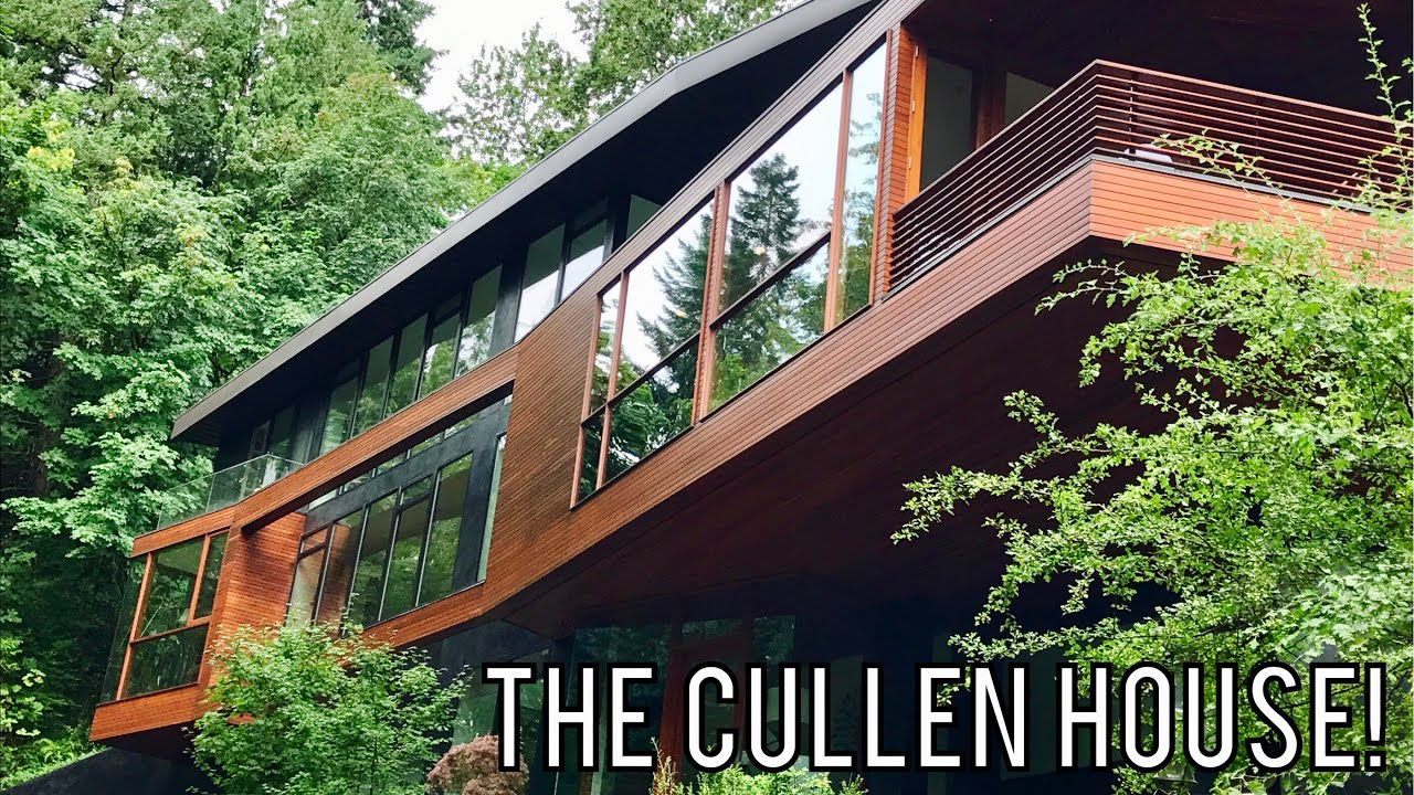I Visited The Cullen House From Twilight In Real Life Youtube