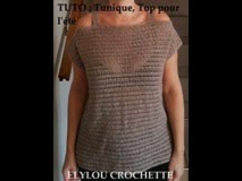 Blouse Au Crochet En Francais 5