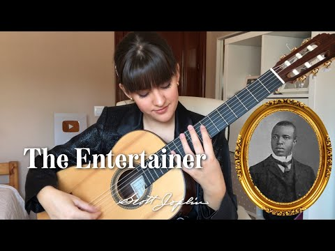 The Entertainer Para Guitarra | Paola Hermosín