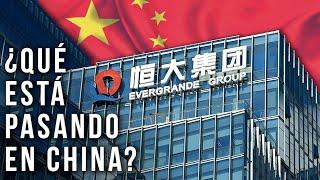 ¿Qué está pasando en China con Evergrande?
