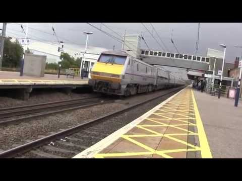Newark Northgate Railway Station, Nottinghamshire, England - 18th August, 2014