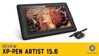 XP-Pen Artist 15.6 Review (8192 levels of pressure version)