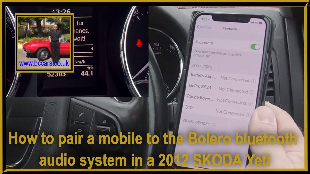 Skoda Bolero Connect Phone