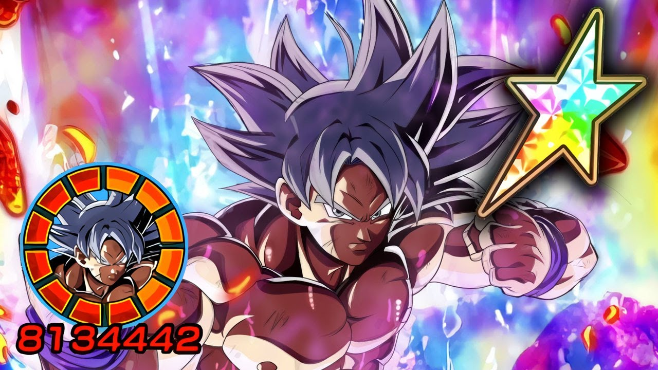 100 Agl Lr Ultra Instinct Goku Showcase Level 10 Links Dragon Ball Z Dokkan Battle Youtube
